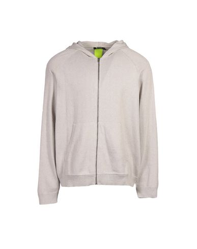 T By Alexander Wang Hooded Sweatshirt In Grey
