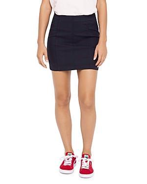 d189dc22d Free People Modern Femme Plaid Miniskirt In Dark Green | ModeSens