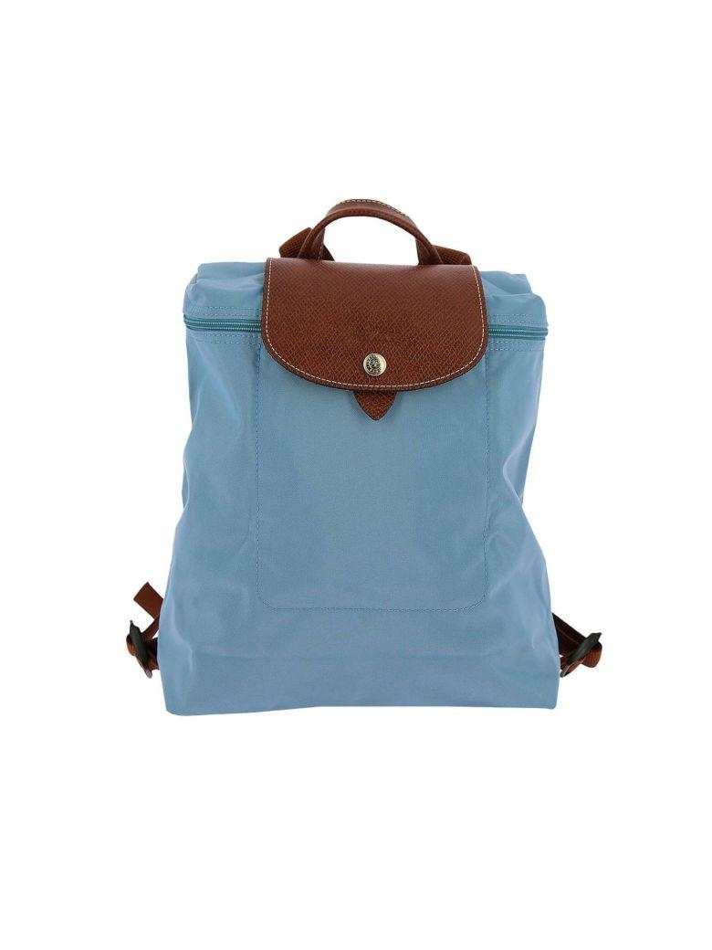 27934242c2 Longchamp Backpack Shoulder Bag Women In Sky Blue | ModeSens