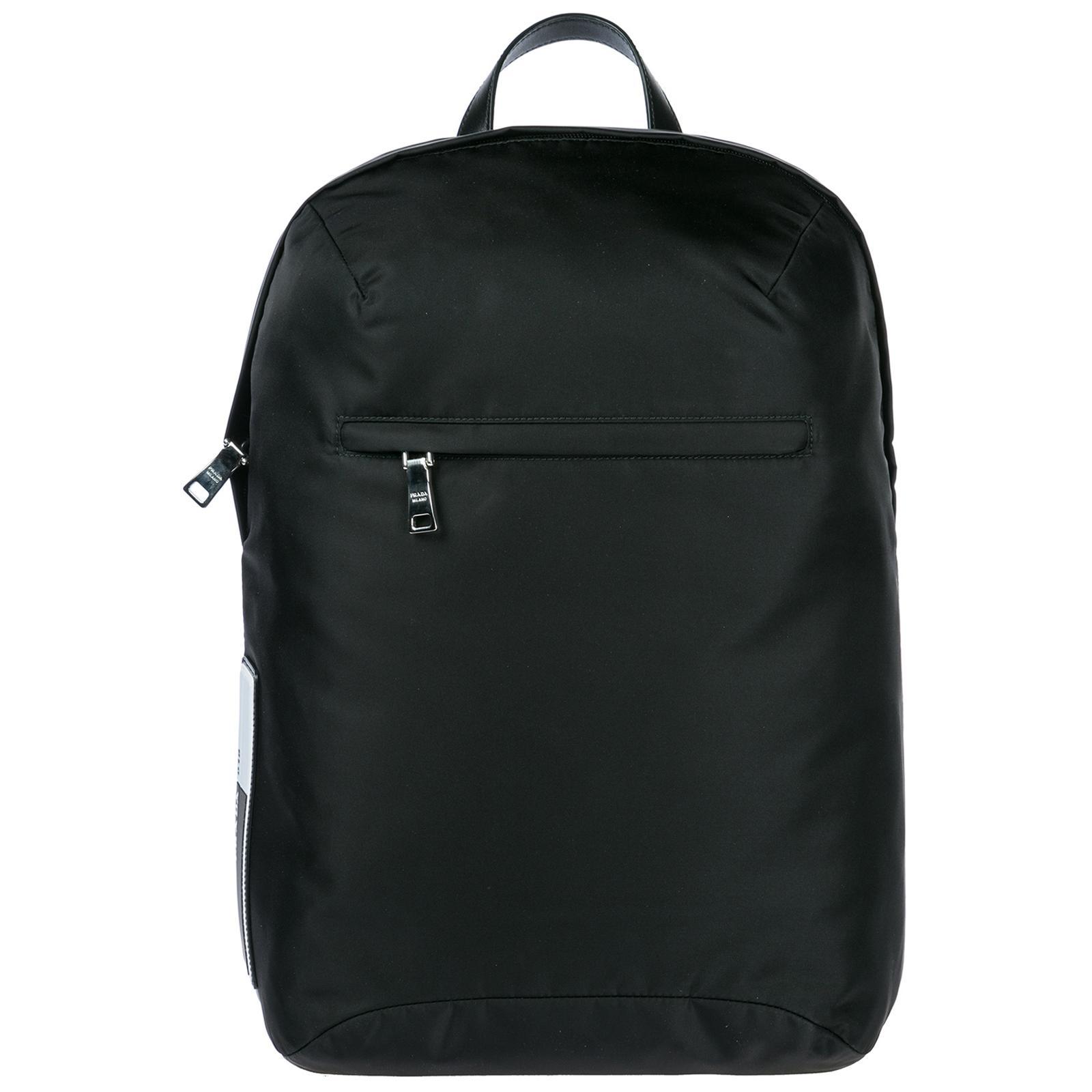 ec5ee2e4b926b Prada Nylon Rucksack Herren Tasche Laptop Schulrucksack In Black ...
