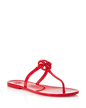 9d0afe5e9ea43 Tory Burch Women s Mini Miller Thong Sandals In Brilliant Red