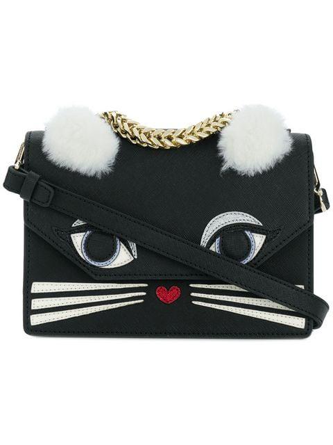Karl Lagerfeld Klassic Fun Mini Handbag - Black