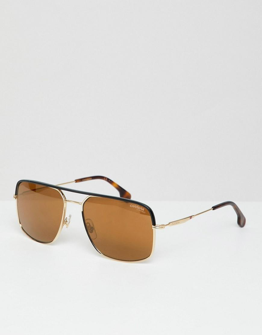 f35fb0c3714e Carrera Aviator Sunglasses In Gold & Tort - Gold | ModeSens
