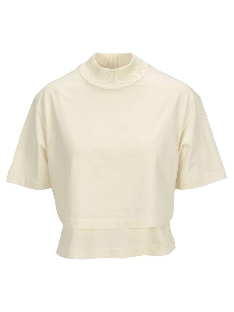 c6c28ced937 Y-3 Adidas Y3 Crop Tshirt In White | ModeSens