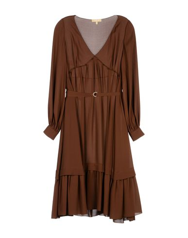Michael Kors Knee-Length Dress In Cocoa