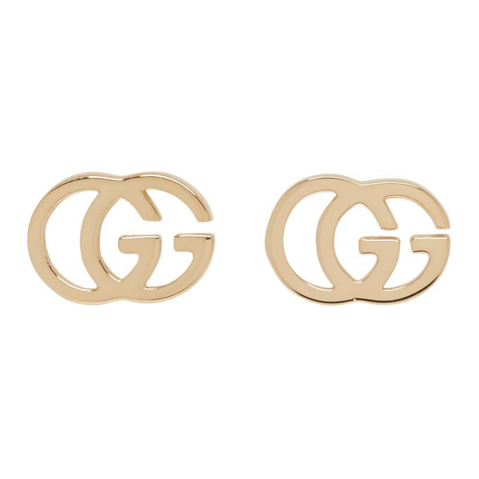 517f19218f63aa Gucci Gold Gg Tissue Stud Earrings In 4002 Gold | ModeSens
