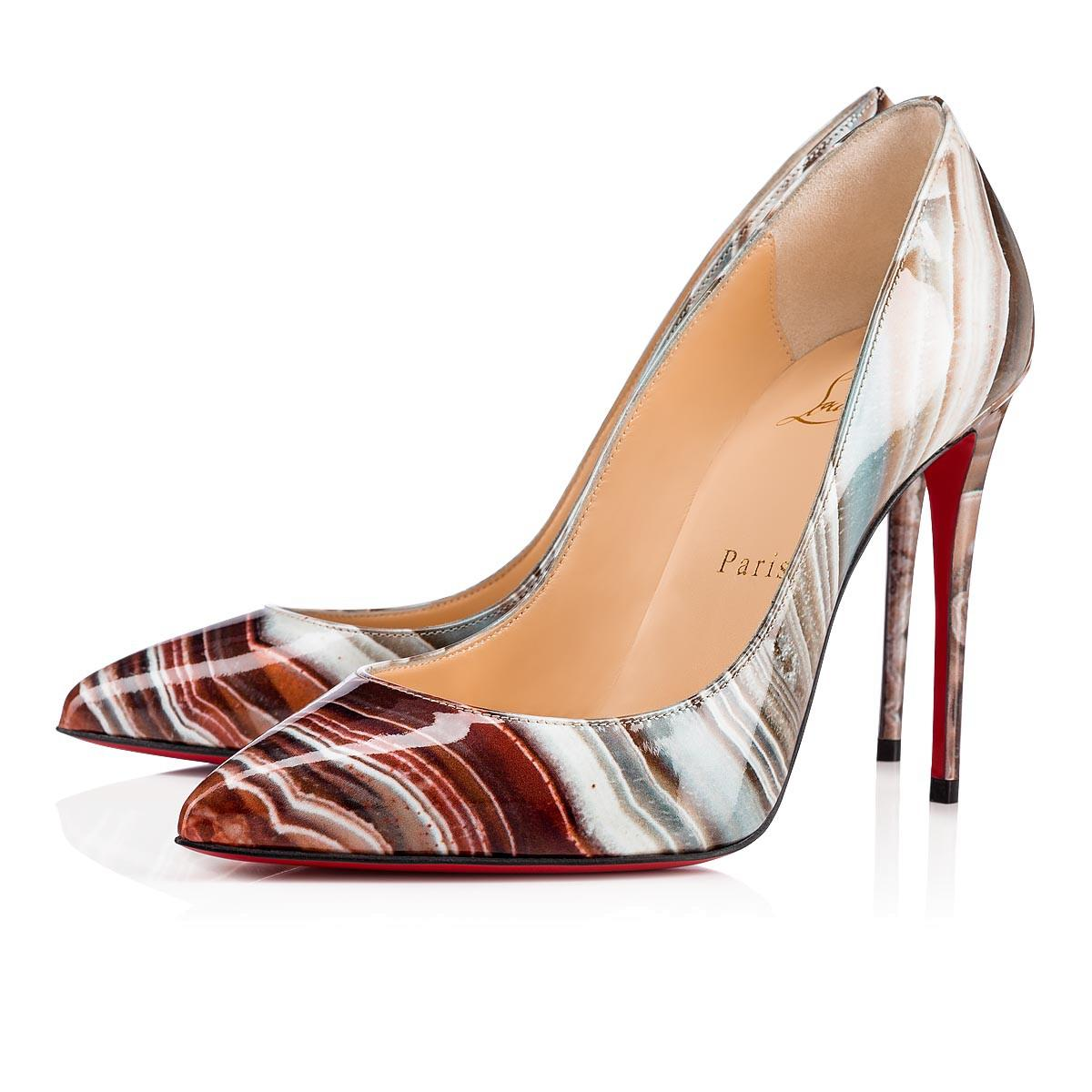 55ef64fd30d Christian Louboutin Pigalle Follies Patent Agathe In Multicolor ...