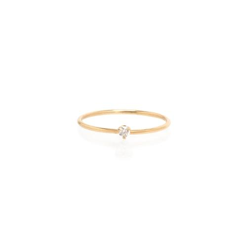 ZoË Chicco 14Ct Yellow Gold Diamond Ring