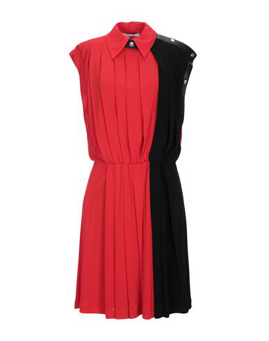 Givenchy Red And Black Jersey Dress In 606 Red/ Black