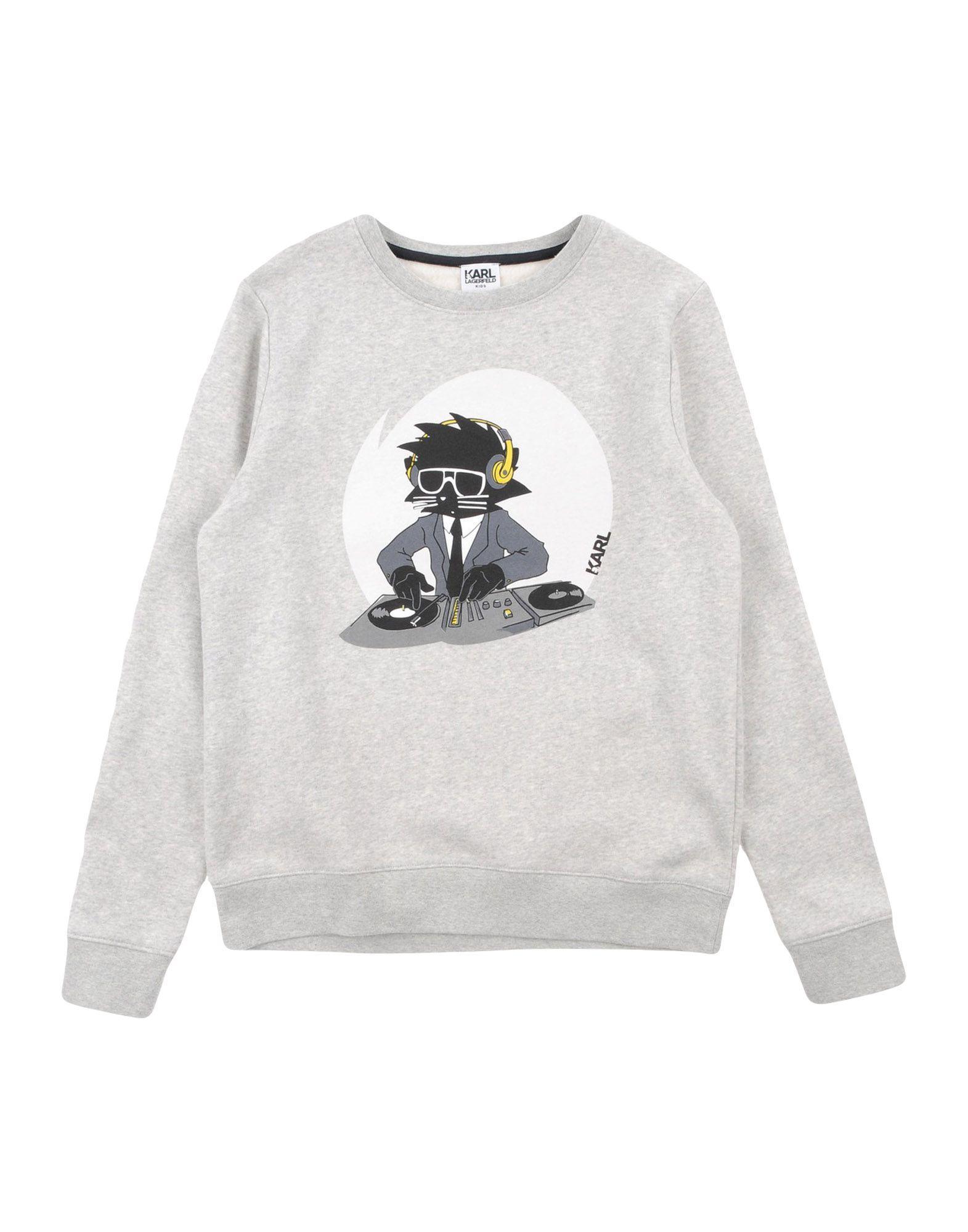 Sweatshirt In Light Grey