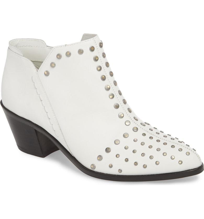 15bdd9dec25 1.State Loka Studded Bootie In White Leather