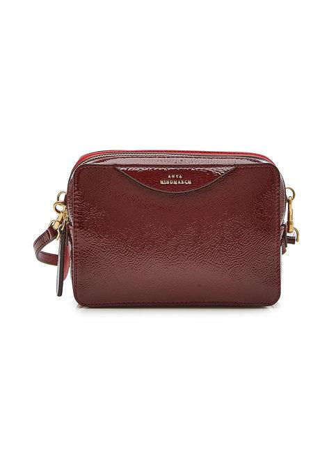 966d1c7404 Anya Hindmarch Double Stack Leather Crossbody Bag In Red | ModeSens