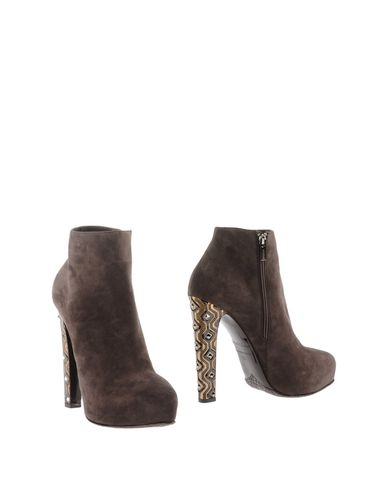 Le Silla Ankle Boot In Dark Brown