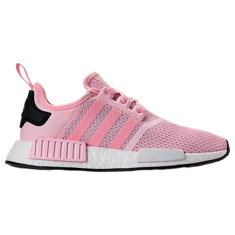 32a51289ee57 Adidas Originals Women S Nmd R1 Knit Lace Up Sneakers In Pink