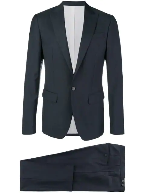 Dsquared2 Two-Piece Formal Suit - Blue