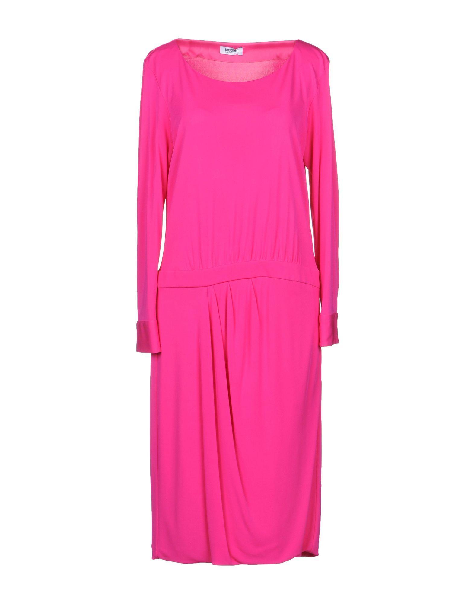 Moschino Cheap And Chic Knee-length Dress In Fuchsia