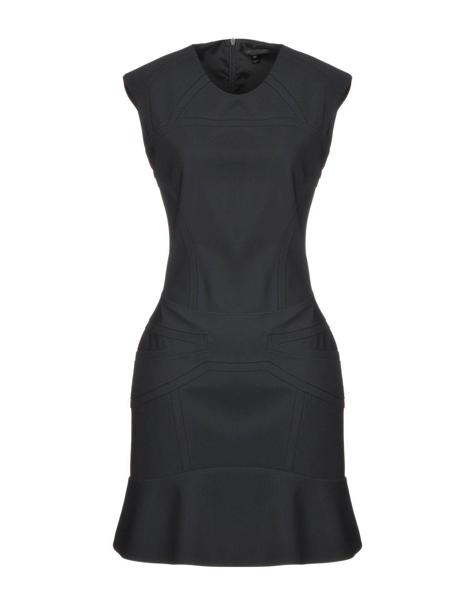 Belstaff Short Dress In Black