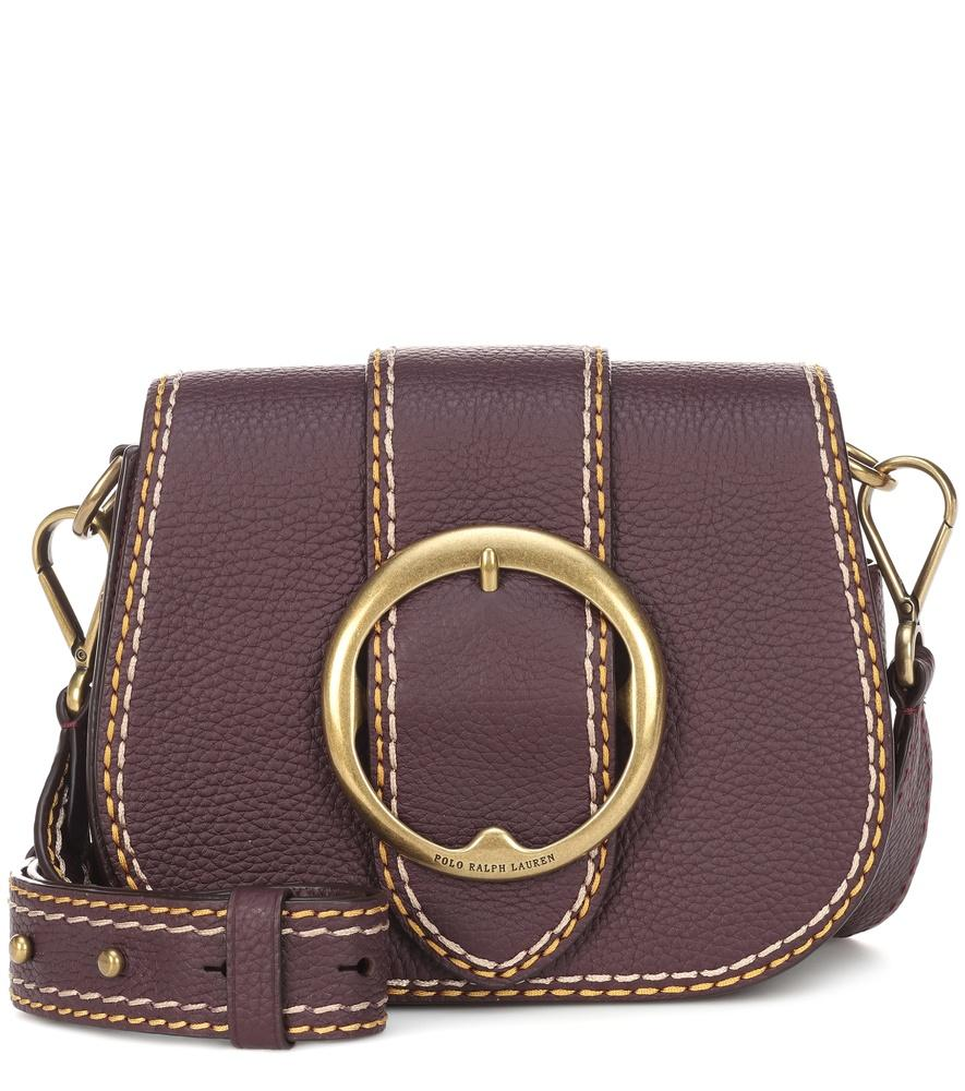 b314867fc6 Polo Ralph Lauren Lennox Leather Crossbody Bag In Brown. Mytheresa.  214Login to see ...