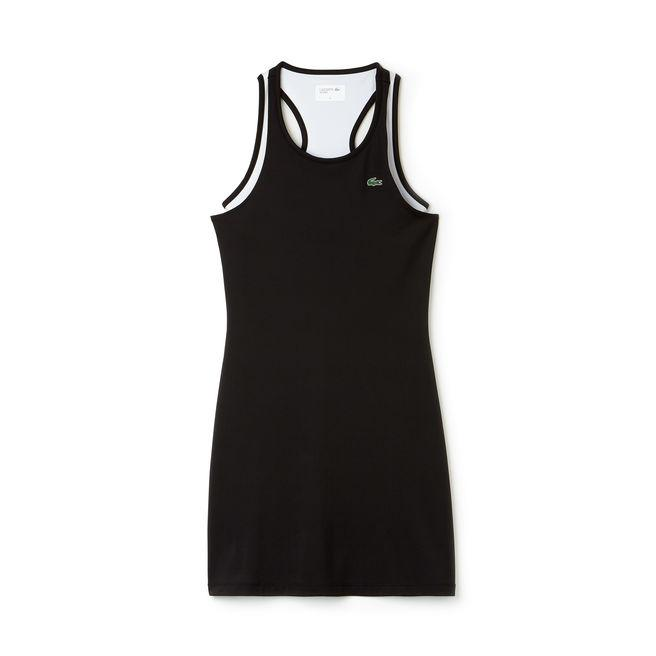Lacoste Womens Technical Jersey Tennis Tank Dress