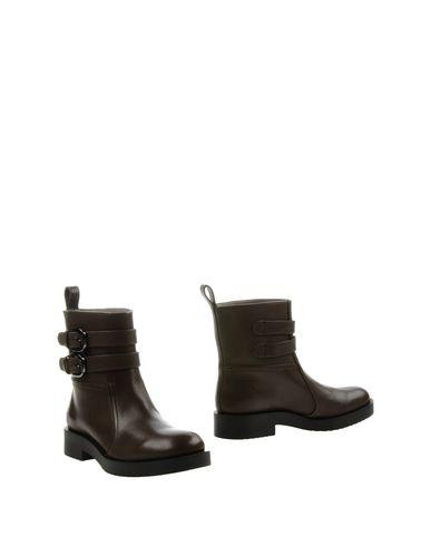 Jil Sander Ankle Boots In Lead