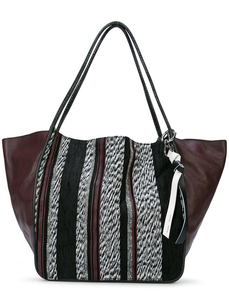 d16039fb5d4c Proenza Schouler Woven Extra Large Tote - White