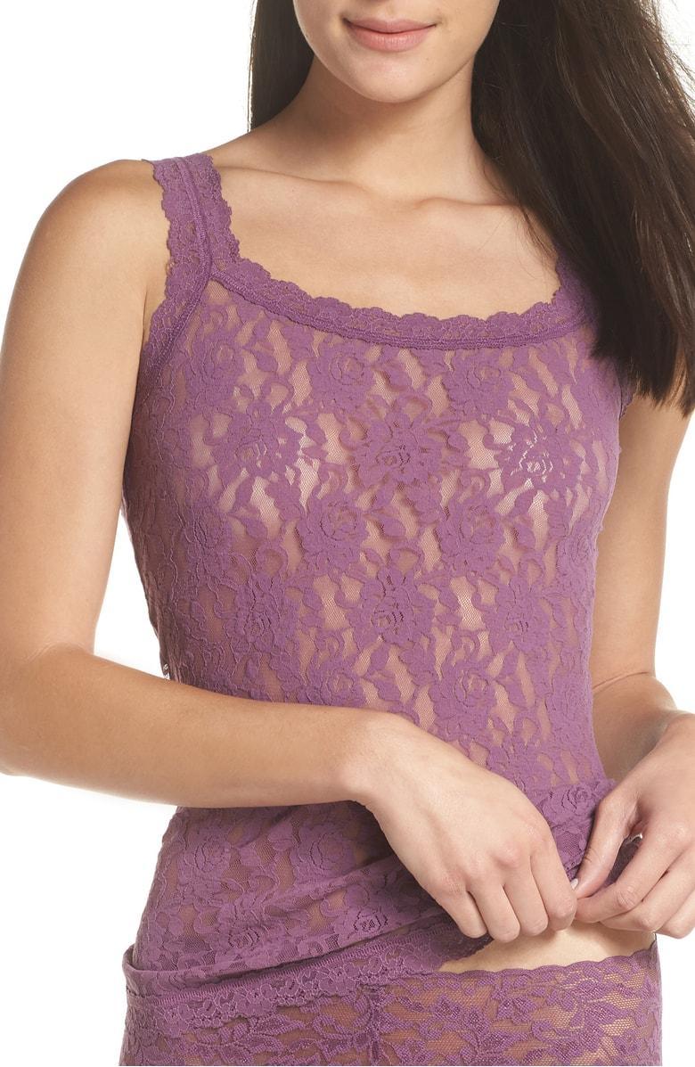 3c4206cab1c4e Hanky Panky  Signature Lace  Camisole In Valiant Purple