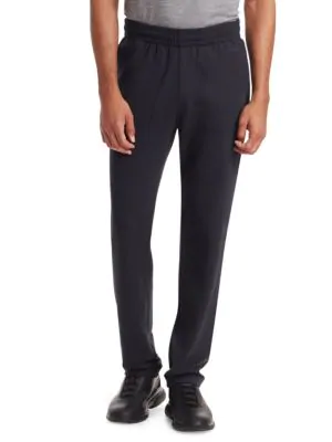 Z Zegna Cotton Sweatpants In Navy