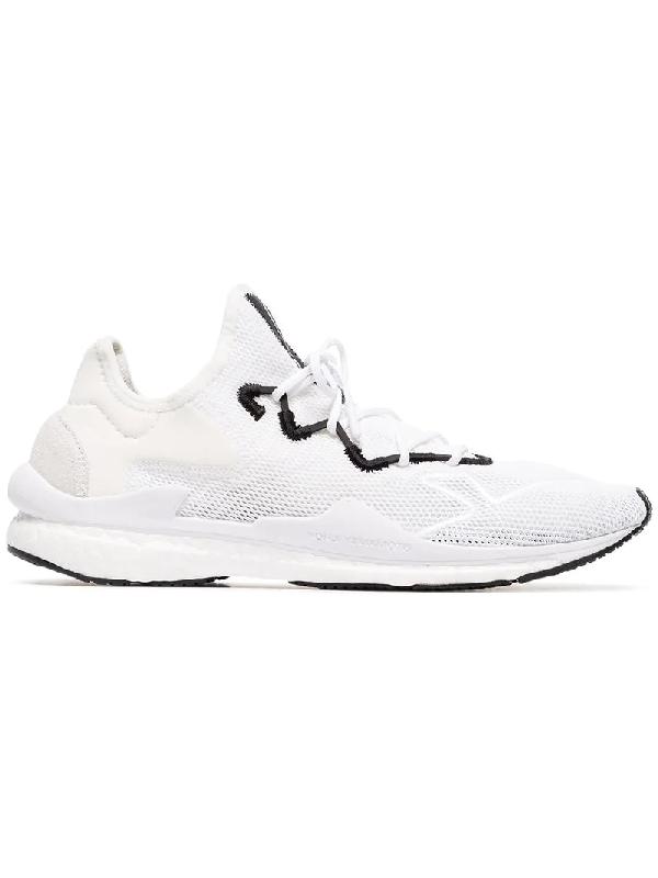8fb7a9d8d Y-3 Men s Adizero Runner Lace Up Sneakers In White