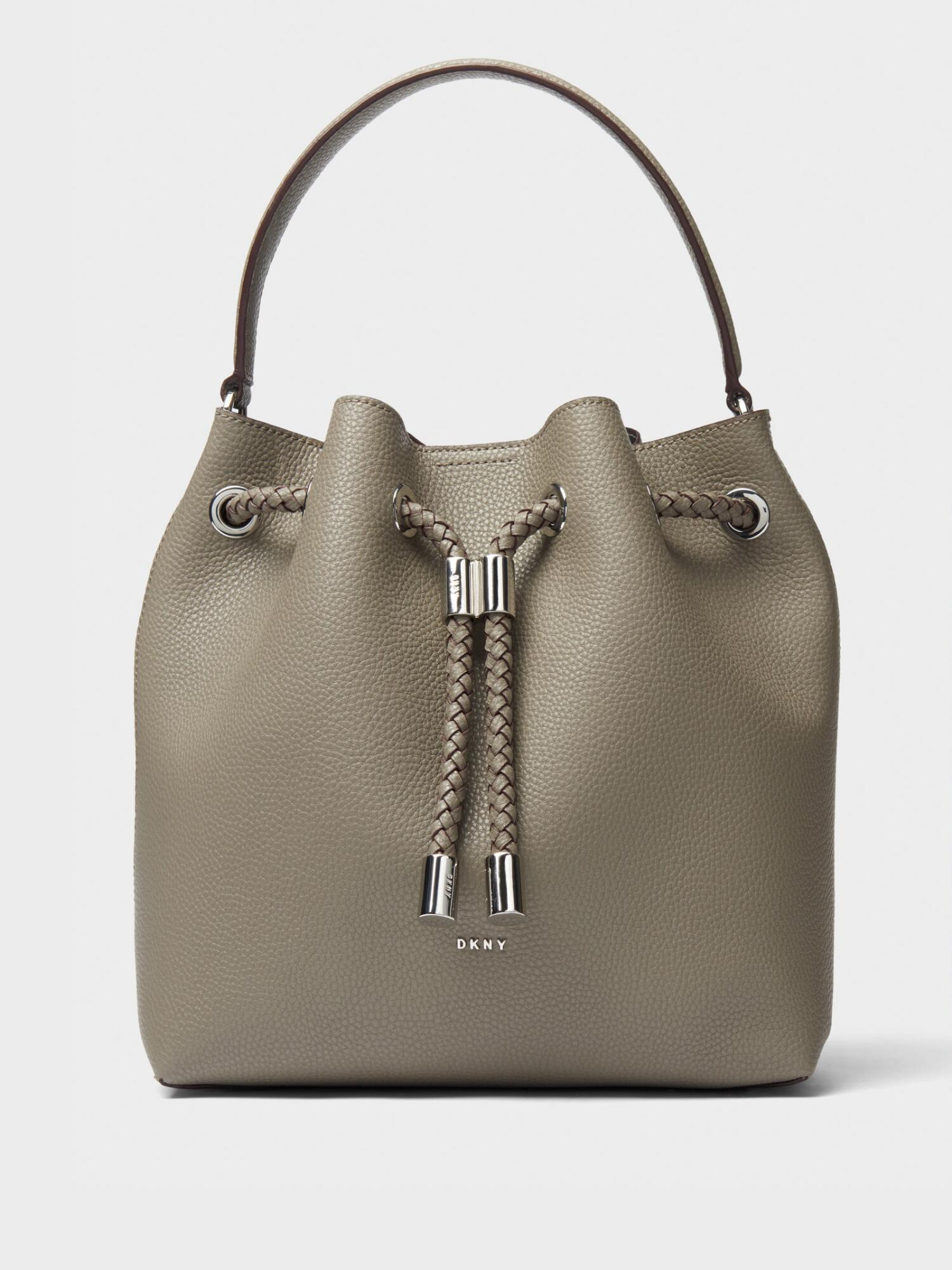 19e84a7f79 Donna Karan Alice Large Leather Bucket Bag In Clay | ModeSens