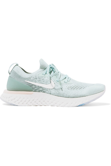 f77fcab8c47 Women's Epic React Flyknit Running Shoes, Blue in Green