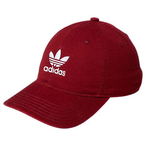 edb0340c51233 Adidas Originals Originals Precurved Washed Strapback Hat, Women'S, ...