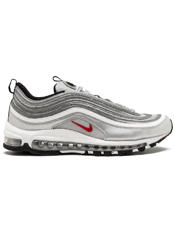 Nike 'Air Vapormax '97' Sneakers Grau in Metallic