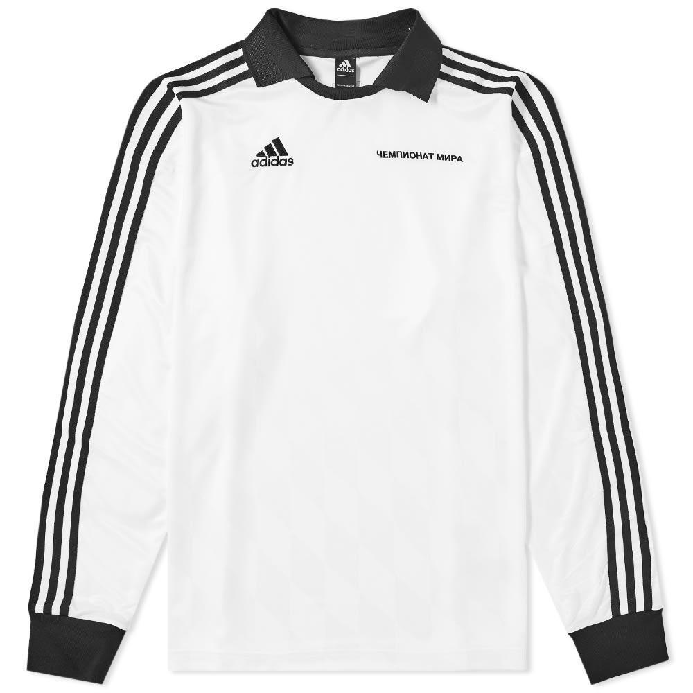 59c58248f0b Gosha Rubchinskiy X Adidas Pullover - Weiß In White   ModeSens
