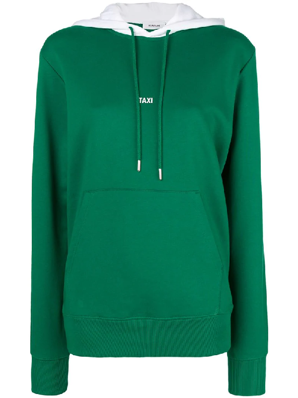 d2099d2b5 Helmut Lang Taxi Campaign Tokyo Hoodie In Green | ModeSens