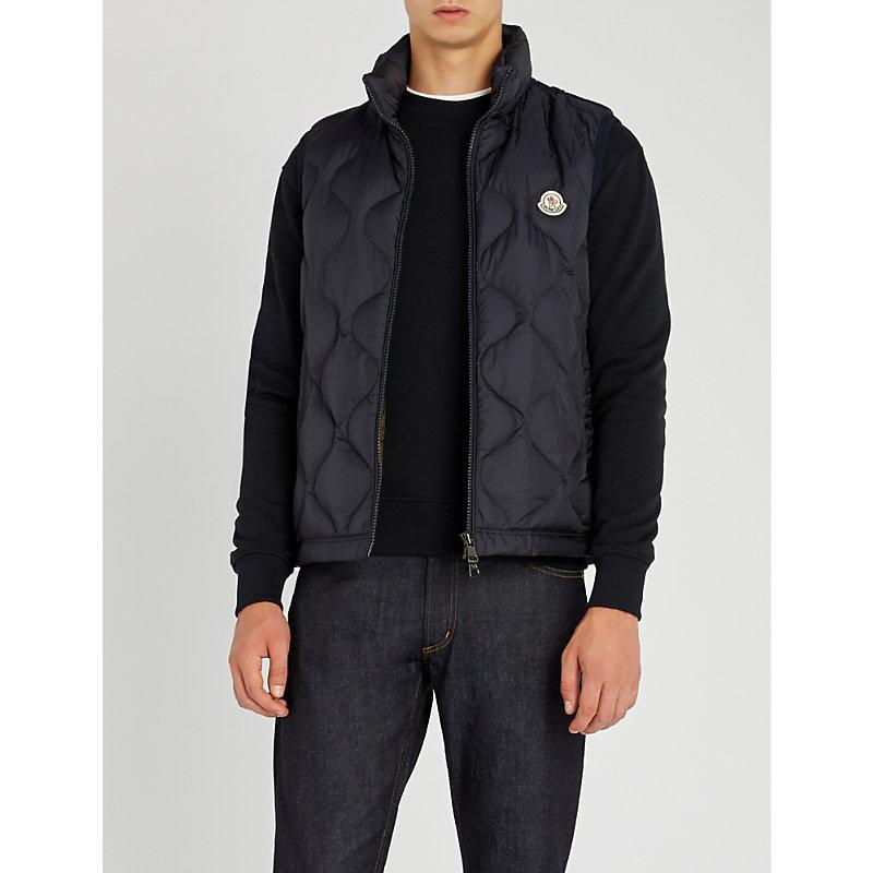 86064a97f Allemont Quilted Shell And Down-Blend Gilet in Navy