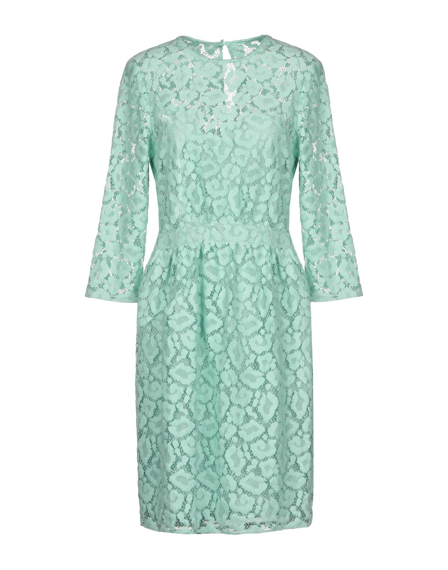 Moschino Cheap And Chic Short Dress In Light Green