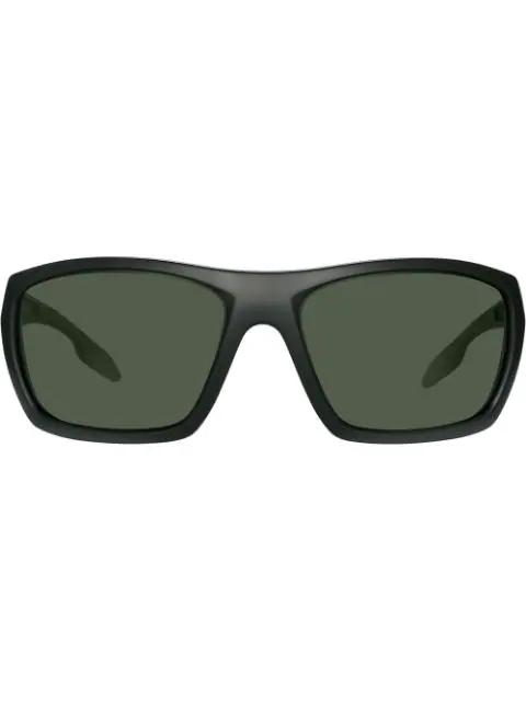 c4dadb7d275a Prada Square-Frame Sunglasses - Green | ModeSens