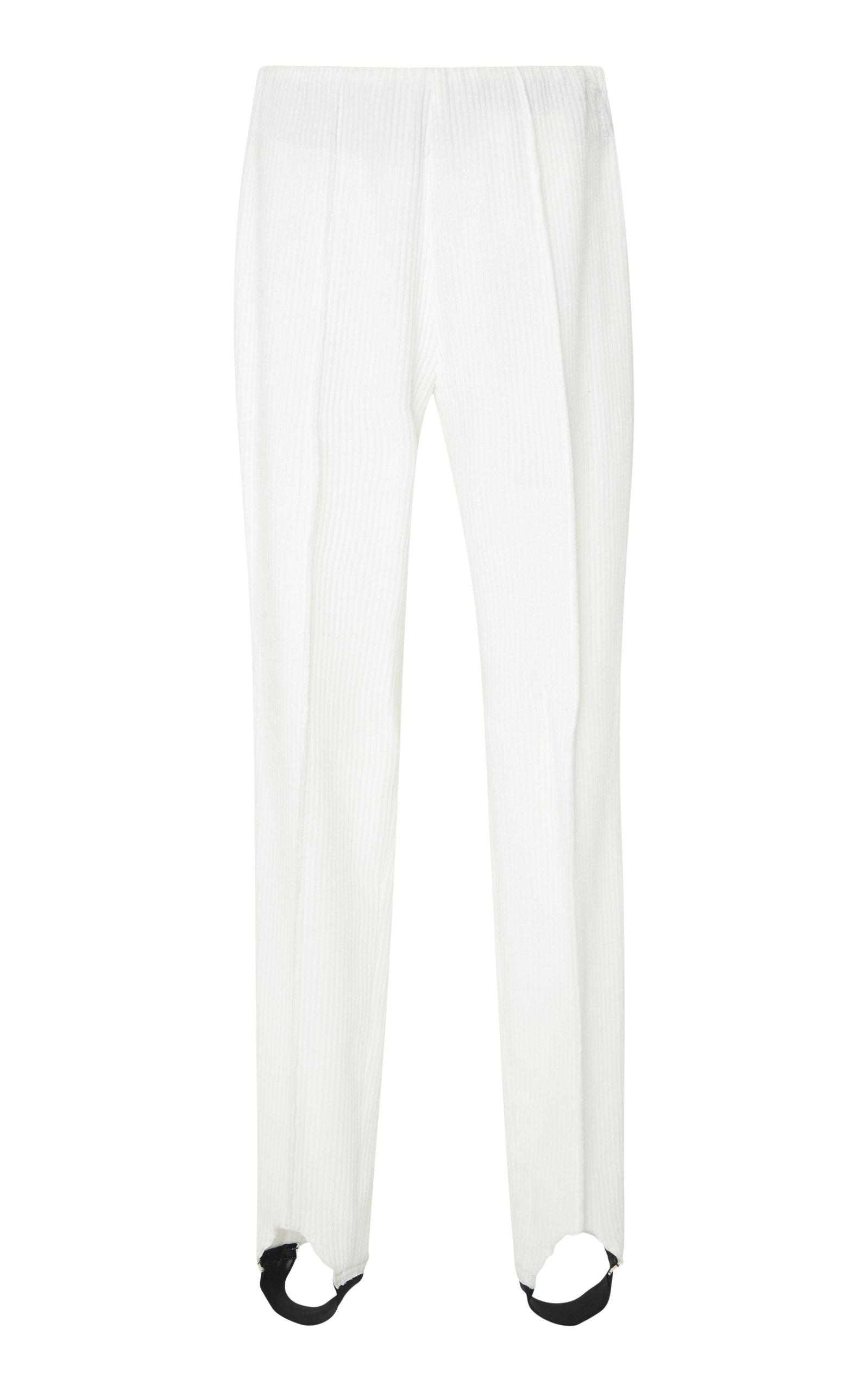 e5c5b3f18 Elaine Corduroy Ski Pants in White
