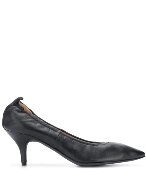 Joseph Pointed Pumps In Black
