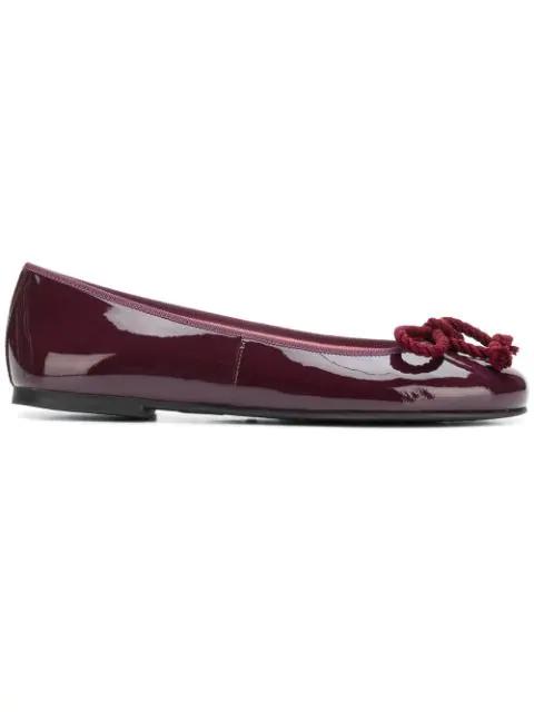 new concept d57ec fe0bc Pretty Ballerinas Ballerina Flats - Red