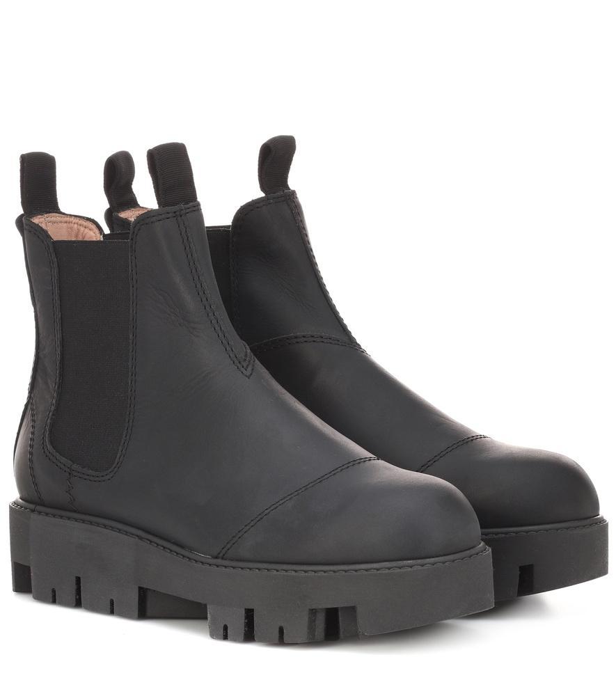 Acne Studios Tillay Industrial Chelsea Boots In Black