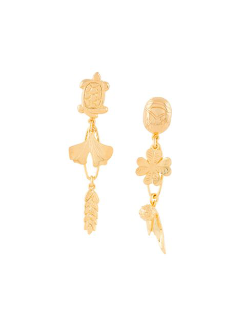 Aurelie Bidermann Aurelie Earrings In Metallic