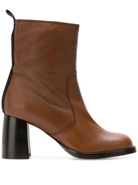 Joseph Side Zip Boots