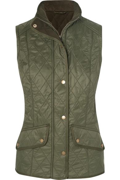 barbour cavalry vest