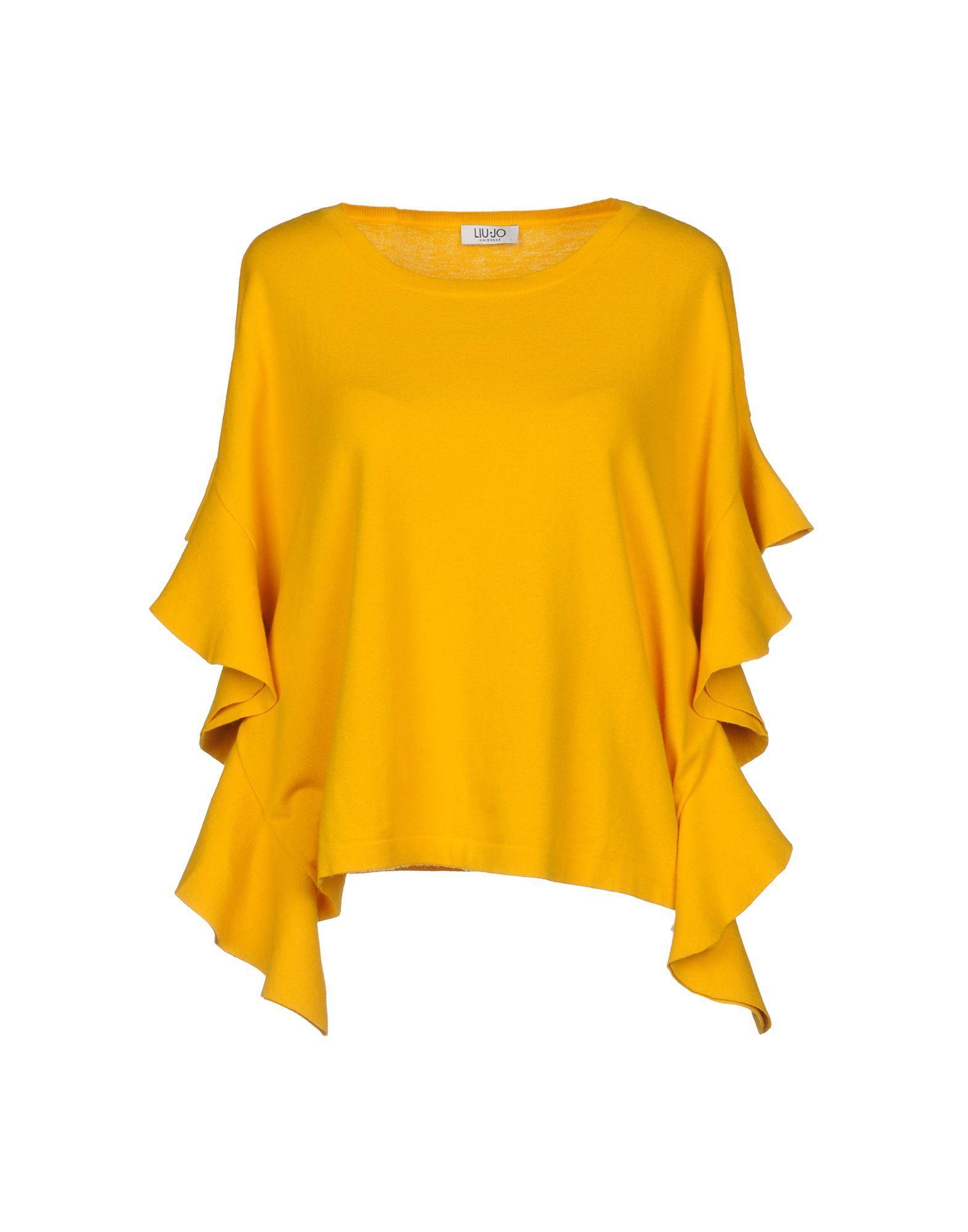 Liu •jo Sweater In Yellow