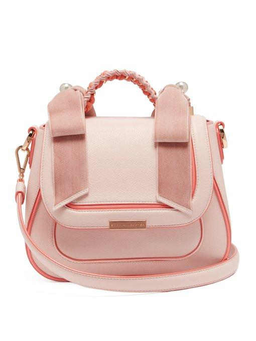 909406db4c Sophia Webster Eloise Pearly Shoulder Bag In Pink