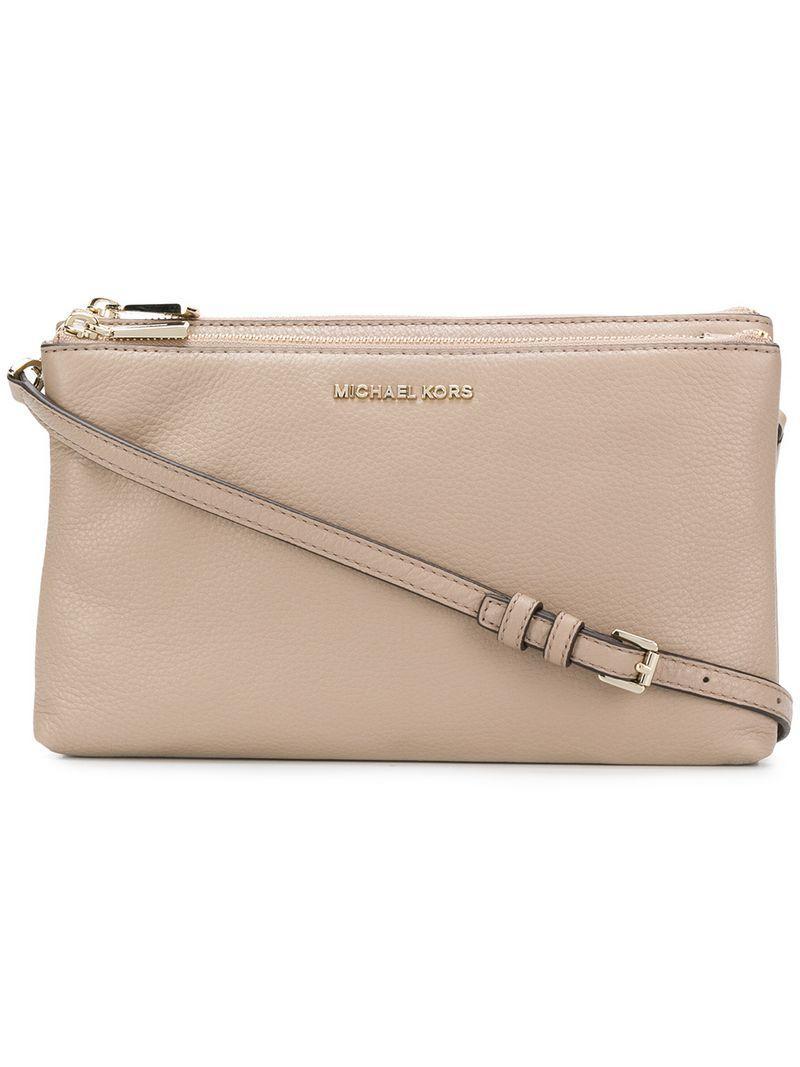 d007caddfa71 Michael Michael Kors Adele Shoulder Bag - Neutrals | ModeSens