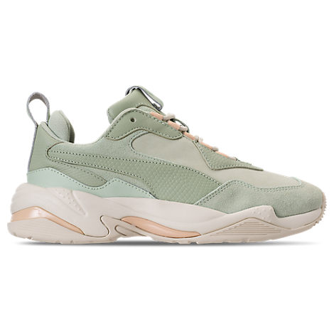 Puma Women's Thunder Drift Leather & Suede Lace Up Sneakers In Green