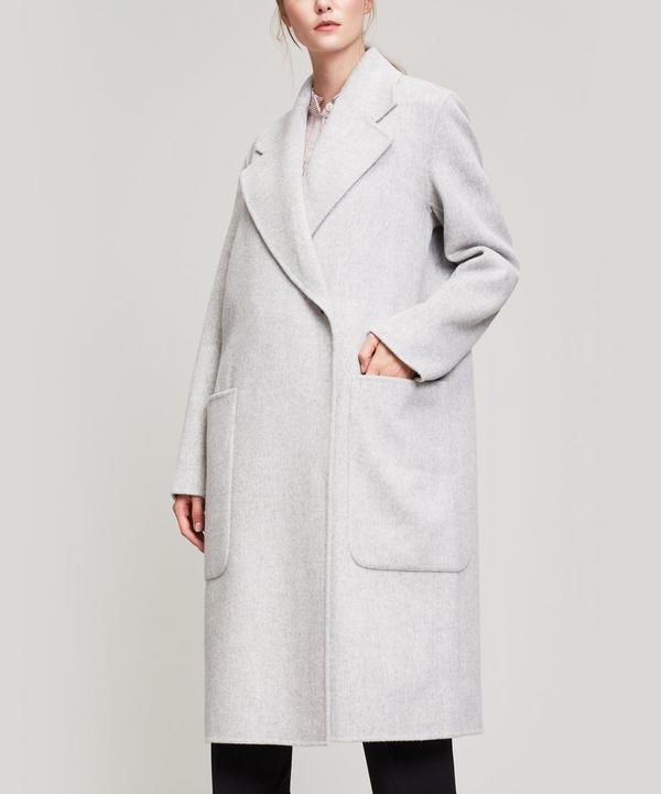 Acne Studios Carice Wool Coat In Grey