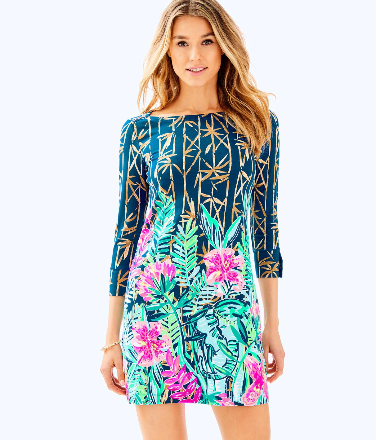 f92c53080f5d8f Lilly Pulitzer Upf 50+ Sophie Dress In Multi Slathouse Soiree Engineered  Sophie